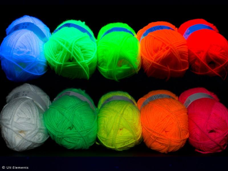 Wolle Set Je Farbe 1x150g Weiß Gelb GRÜN Pink Neon  eBay