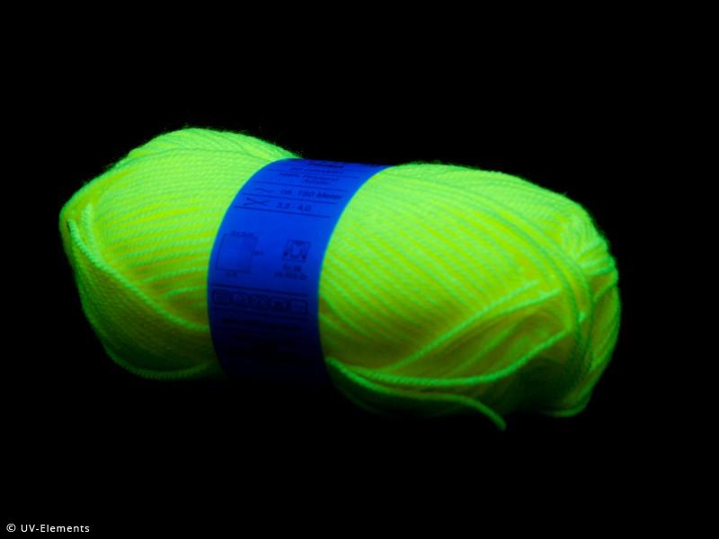 weiß,gelb,grün,pink,orange NEON UV Wolle Set je Farbe 2x 50g Küche, Haushalt & Wohnen
