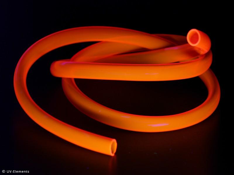 PVC-Leuchtschnur 10mm (1m) - orange-0423-12-or