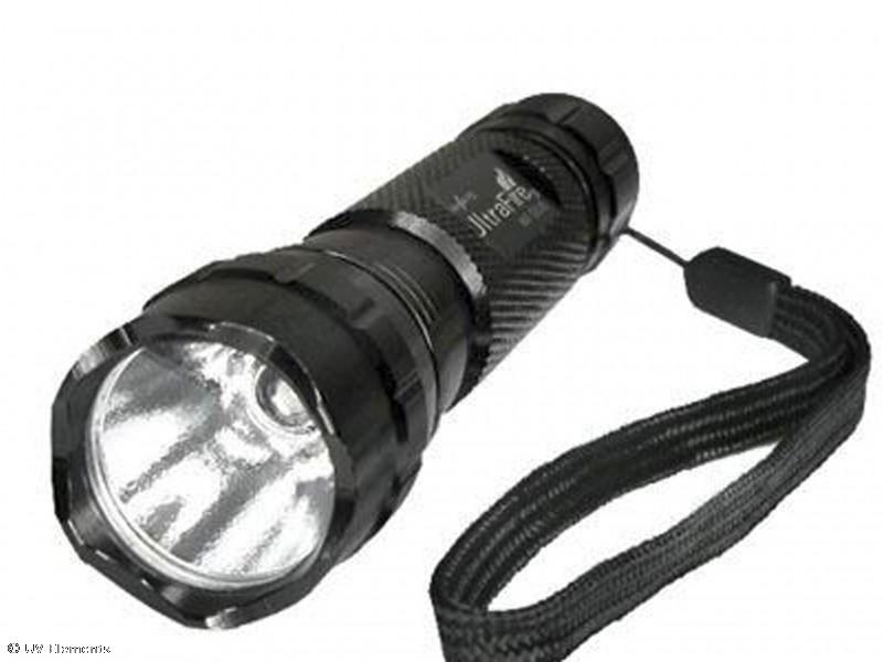 UV Taschenlampe // Geldscheinprüflampe 9er UV-LED - UV Neon Schwarzlicht