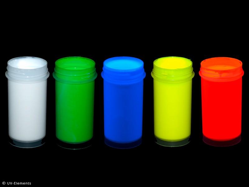 uv k rpermalfarbe set 1 5x25ml farben wei blau gr n gelb rot 0511 4. Black Bedroom Furniture Sets. Home Design Ideas