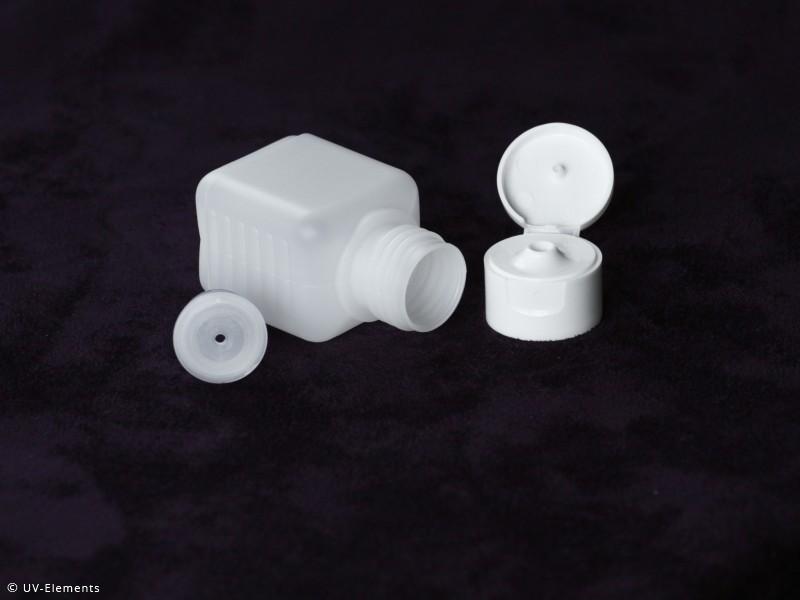 leerflasche kunststoff plastikflasche hdpe vierkantflasche labor rechteckflasche. Black Bedroom Furniture Sets. Home Design Ideas