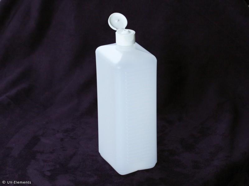 vierkantflasche 1000ml 10 stk leerflasche kunststoffflasche hdpe ebay. Black Bedroom Furniture Sets. Home Design Ideas