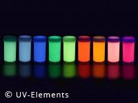 Neon UV-Lack spezial Nachleuchtend 50ml